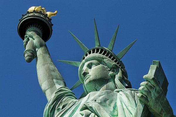Dar ze sladké Francie - Socha svobody vNew Yorku
