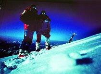 S Agostinem da Polenzou na vrcholku K2, 31. červenec 1983