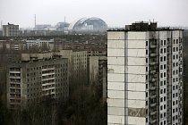 Opuštěné město Pripjať, vystavěné necelých pět kilometrů od místa výbuchu. Kvůli vysoké úrovni radiace bylo všech 50 000 obyvatel evakuováno den po katastrofě.