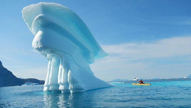 V zajetí ledu aneb Grónsko na seakajaku