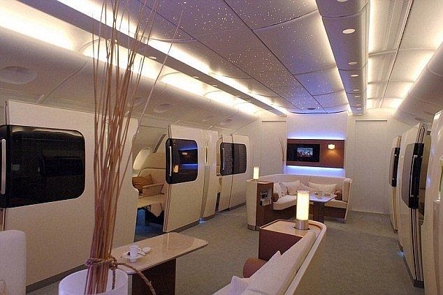 První třída v novém Airbusu  to není sci-fi c20414d854