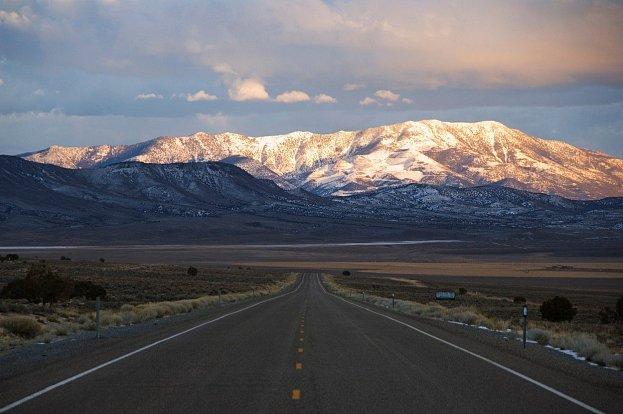 Toto je nejopuštěnější silnice v Americe