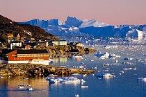 Ledovcový fjord ve městě Ilulissat je na seznamu přírodního světového dědictví (UNESCO)