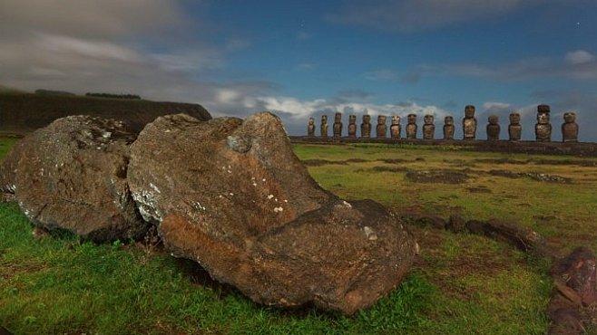Exkluzivně pro NG: Sochy na Velikonočním ostrově. Kéž by tak mohly mluvit