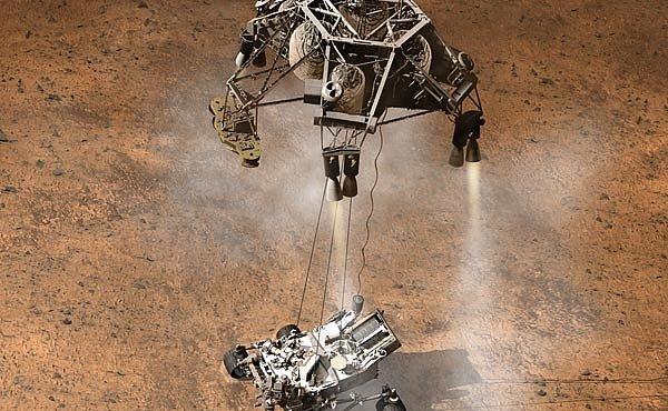 INFOGRAFIKA: Vše o přistání sondy Curiosity na MARSU