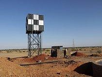 Stavba filtrační stanice