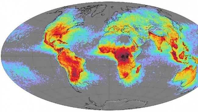 Sem udeří blesk: mapa NASA, která ukazuje počet blesků