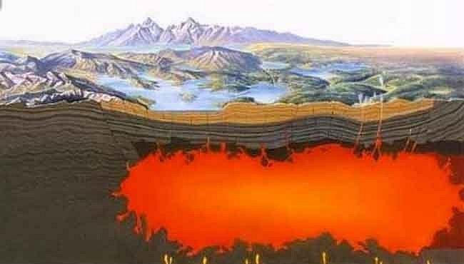 Dřímající supervulkán pod Yellowstonem je větší, než se myslelo