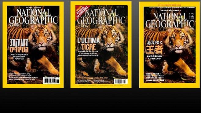 Exotické obálky National Geographic. Líbí?