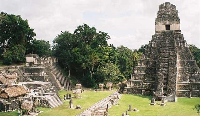 Cesta do mayské Střední Ameriky