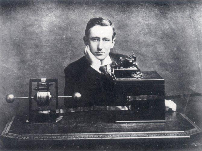 Marconi představuje rádio