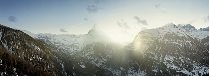 Matterhorn je nejfotografovanější hora Švýcarska a také Evropy