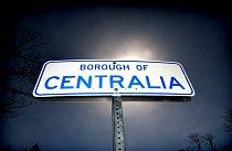 Jediný doklad bývalé slávy města je cedule s nápisem Centralia.
