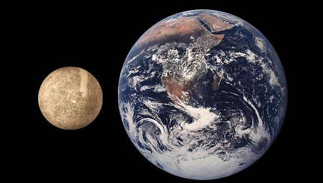Planeta Merkur se smršťuje
