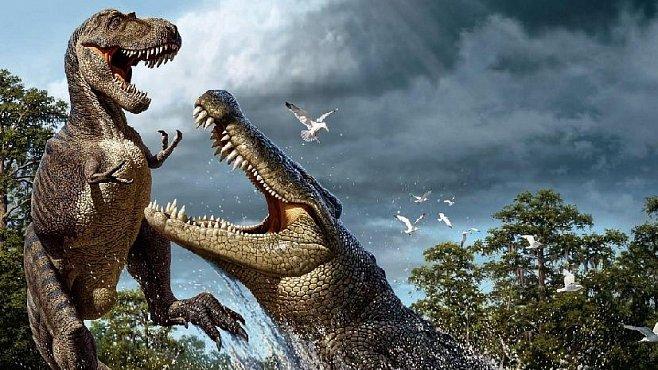 Nejsilnější čelisti v říši zvířat má krokodýl. Překonal i tyranosaura