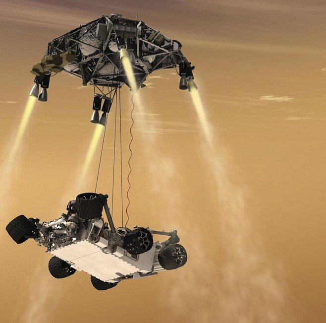 SPECIÁL: Mise Curiosity na Marsu