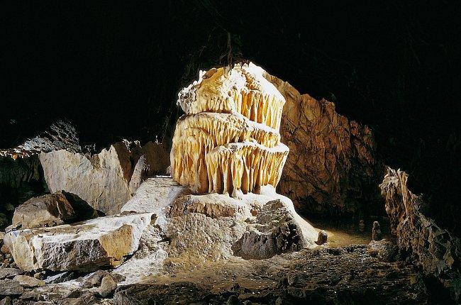 Výzdoba v jeskyni je skutečně výjimečná.
