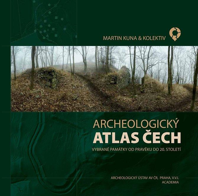 Obálka Archeologického atlasu Čech