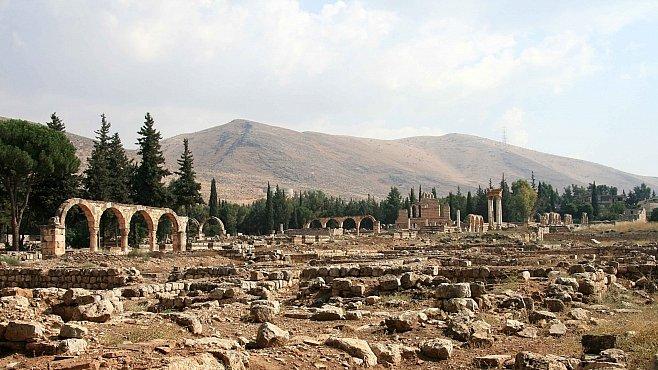 Rozvaliny libanonského Anžaru jsou křižovatkou arabské, byzantské i římské architektury