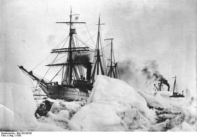 Byrdova expedice na jižní pól.