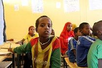 Do nové školy chodí celkem 860 dětí.