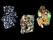 Díky výzkumu planetky se podařilo dokázat, že některé meteority, jež dopadají na Zemi, pocházejí z tohoto tělesa. Patří k nim i tyto tři kameny.