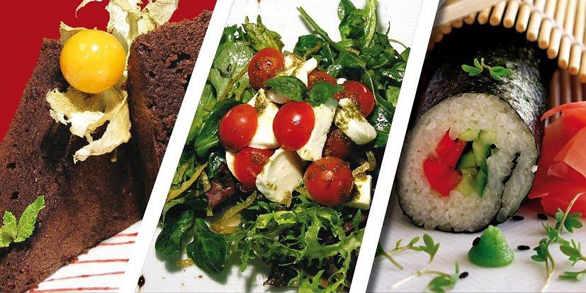 Vegetariánské speciality.