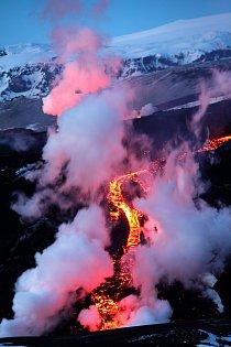Island, duben 2012