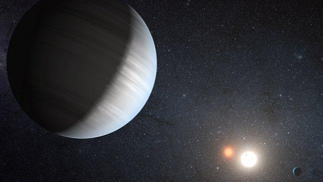Výjimečný hvězdný systém se dvěma slunci objevil teleskop Kepler