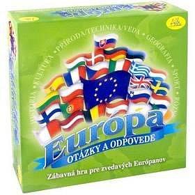 vědomostní hra Evropa