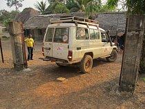 Sanitka Lékařů bez hranic v Bo v Sierra Leone. (Foto © Niklas Bergstrand/MSF)