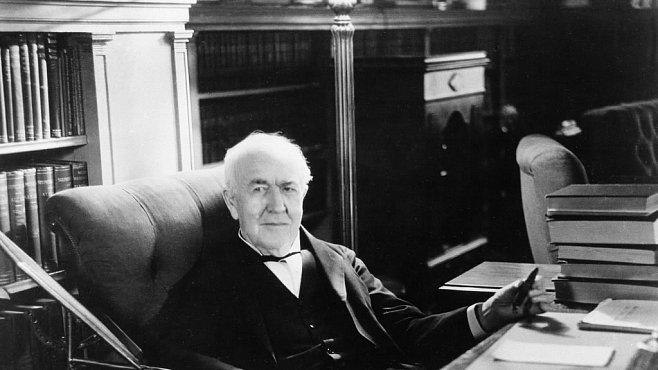 Kouzelník Thomas Alva Edison