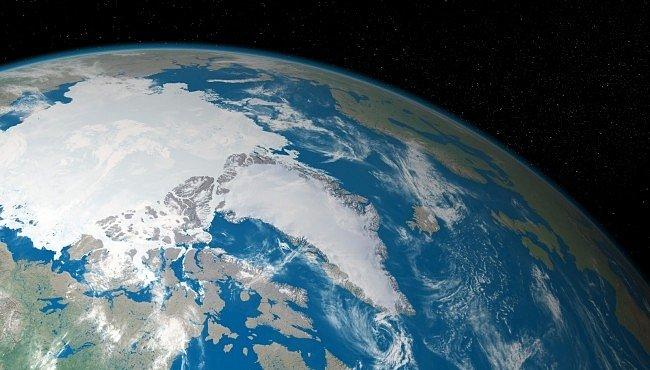 Globální oteplení zrychlilo posouvání severního pólu na jih