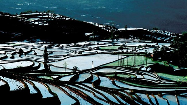 Za čínskou venkovskou idylou