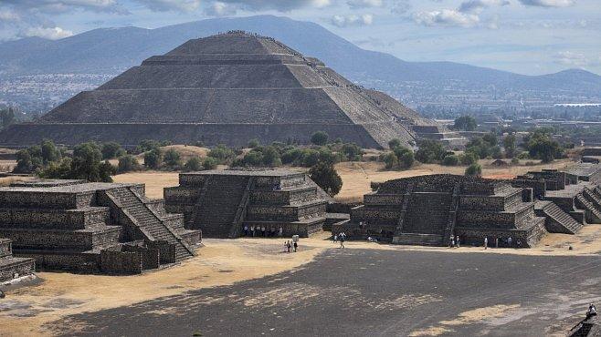 Pyramidy odhalily měrný systém starobylého Teotihuacanu, tvrdí archeolog