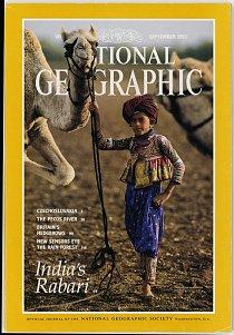 Obálka amerického vydání National Geographic ze září roku 1993.