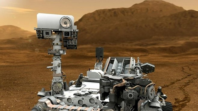 Sondu Curiosity řídil záložní počítač, hlavní byl rozbitý. Poškodily jej zřejmě kosmické paprsky