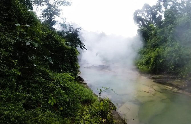 Vařící řeka