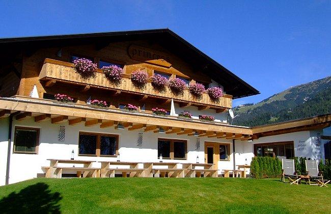 Hotel Princess Bergfrieden v tyrolském Seefeldu