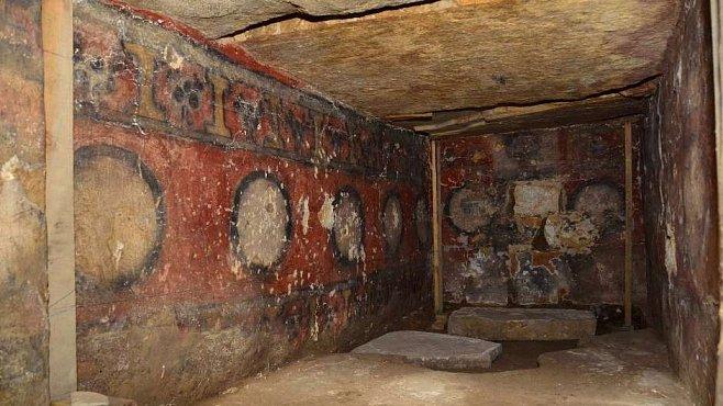 Bohatě malované zapotécké hrobky vydávají své tajemství
