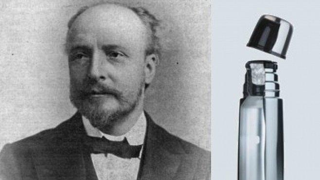 Otec termosky byl špičkový fyzik z Cambridge. Na vynálezu nevydělal ani penny