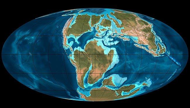 Mechanismus skleníkových efektů funguje napříč milióny let