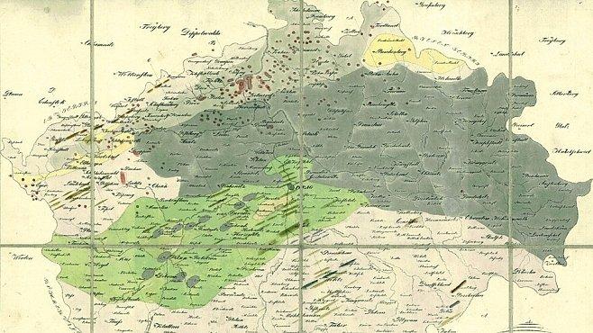 Geologické mapy našeho území nabízejí překvapivou procházku do historie