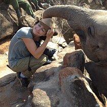 Její výstava představí příběhy ze Sloního sirotčince v Keni.