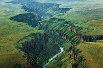 Oregin chrání 193 kilometrů od roku 1984 a dalších 108,1 kilometru od roku 1988; 275,2 pak je chráněno v Idahu od roku  2009 FOTO: Michael Melford pro National Geographic