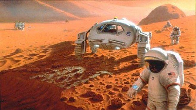 Přistání astronautů na Marsu by mohlo ohrozit tamní možný život
