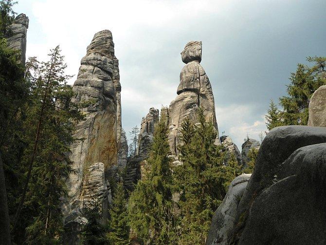 Adršpašsko-teplické skály jsou rájem horolezců imilovníků pěších výletů.