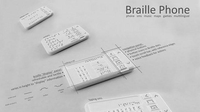 Indický vynálezce vyvíjí telefon pro nevidomé s Braillovým písmem. V čem je výjimečný?