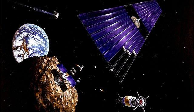 Jak si přitáhnout (a pak vytěžit) asteroid