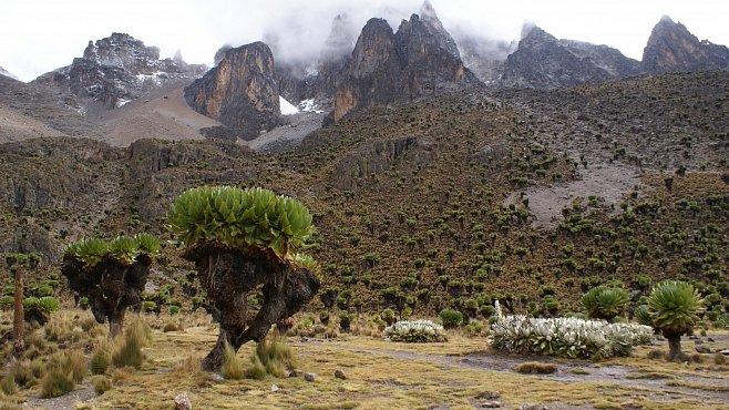 Dobytí Mt. Kenya Čechem Jakubem Zahradníčkem